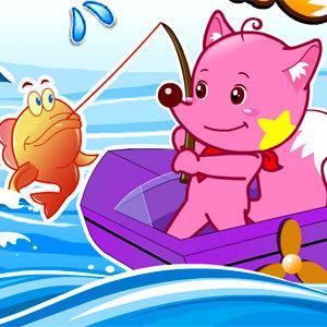 เกมส์ตกปลา เกมส์ตกปลากับเจ้าสุนัขจิ้งจอก