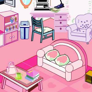 Pink Room Decor Game