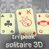เกมส์ไพ่ เกมส์เปิดไพ่ เกมเปิดไพ่ Tri Peak Solitaire 3D