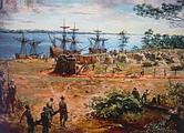 ชาวอังกฤษ กลุ่มแรกเริ่มอพยพเข้ามาตั้งรกรากในทวีปอเมริกา