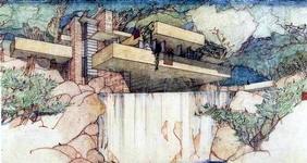 อาคารบ้านเรือนที่ แฟรงค์ ลอยด์ ไรท์ ออกแบบ