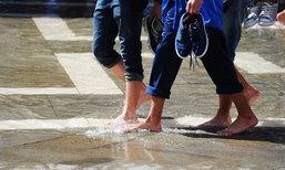 น้ำกัดเท้า โรคอันตรายที่มาพร้อมสงกรานต์