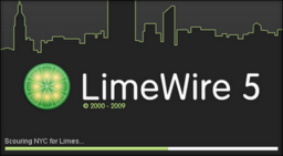 ค้นหาและโหลดข้อมูลจากเน็ต limewire