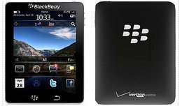 Tablet ของเล่นใหม่ของ Blackberry