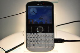 Acer beTouch E130 มาในแนว BlackBerry เลยครับบบบบ