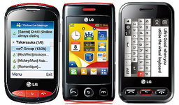 LG Wink มือถือซีรีส์ใหม่เพื่อเจเนอเรชัน