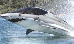 """""""ฉลามเหล็ก""""กระโจนพ้นน้ำได้ 12 ฟุต!!!"""