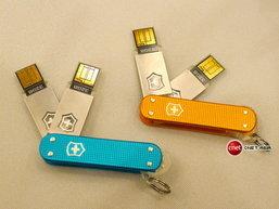 SSD ความจุ 512GB ในทรงมีดพับสวิสจาก Victorinox!