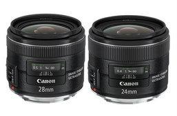 Canon เปิดตัวเลนส์ใหม่ EF 24-70mm L II พร้อม 24mm และ 28mm