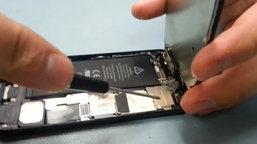เครื่อง iPhone 5 แงะง่ายมาก ลองทำดูไหม?