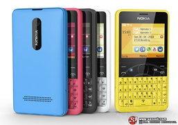 Nokia Asha 210 สมาร์ทโฟนสองซิมพร้อมปุ่มลัด Facebook