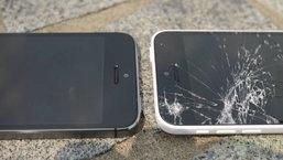iPhone 5s vs iPhone 5c drop test พลาสติก แข็งแรงกว่า อะลูมิเนียม หรือไม่ ?