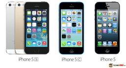 เปรียบเทียบ สเปค iPhone 5S vs iPhone 5C vs iPhone 5 ต่างกันอย่างไร ?