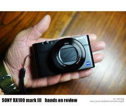 ยืมเค้ามาลองให้ดู++ Sony RX100 Mark 3