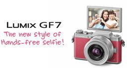 ใหม่! จาก Panasonic… LUMIX GF7 Hands-Free Selfie