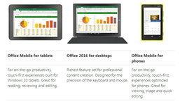 จอทัชเตรียมเฮ Office Mobile For Windows 10 เปิดตัวแล้ว