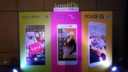 พาสัมผัส i-mobile 3 รุ่นใหม่ ชูจุดเด่น เน้นกล้องล้วน ๆ
