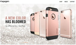 หลุดเคส iPhone 6s สีชมพู หรือ Rose gold