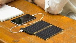Solar Paper แผงโซลาร์เซลล์แบบพกพาที่บางเพียง 1.5 มิลลิเมตร