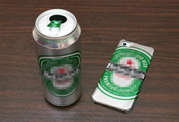 ไอเดียเก๋ ทำเคส iPhone ได้ด้วยตัวเองจากกระป๋องเปล่า