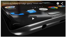 คลิปคอนเซปท์ Samsung Galaxy S7 edge มือถือขอบจอโค้งรุ่นสานต่อ