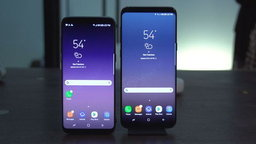 Samsung Galaxy S8+ รุ่นใหญ่ได้รับความนิยมมากกว่า Galaxy S8 รุ่นเล็ก