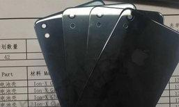 เผยภาพชิ้นส่วนด้านหลัง iPhone รุ่นใหม่มาพร้อมกระจกและกล้องตัวเดียว