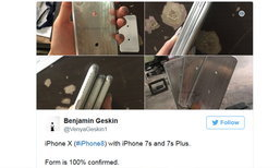 หลุดแม่พิมพ์ iPhone 8 ชุดใหญ่
