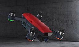 dji Spark หุ่นโดรนตัวเล็กที่สามารถควบคุมได้ด้วยฝ่ามือของผู้ใช้
