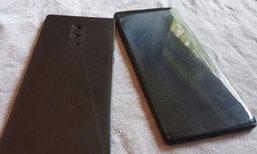 หลุด Samsung Galaxy Note 8 Dummy พร้อมกับระบบสแกนลายนิ้วที่หน้าจอ