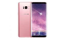 Samsung เผยโฉม Galaxy S8+ สีชมพูสุดหวานขายที่แรกในไต้หวัน