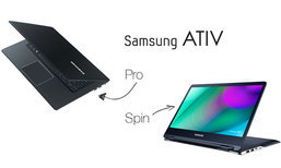 ซัมซุงเปิดตัวคู่หู ATIV Book รุ่นใหม่: 9 Pro รุ่นแรงจอ 4K และ 9 Spin พลิกได้ 360 องศา