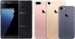 เปรียบเทียบ Galaxy Note 7 และ iPhone 7 สองเรือธงสุดล้ำแห่งยุค! รวมสเปคทั้งหมดก่อนเปิดตัว
