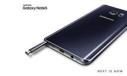 ลดนาทีสุดท้ายของ Samsung Galaxy Note 5 เริ่มต้นไม่ถึง 15,000 บาท