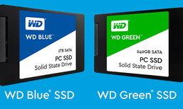 Western Digital เปิดตัว SSD เป็นของตัวเอง 2 รุ่น