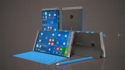 Microsoft Surface Phone ว่าที่ยอดเรือธงรุ่นต่อไปเผยภาพคอนเซ็ปต์ใหม่!