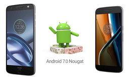 Motorola ประกาศปล่อยอัปเดท Android Nougat ให้กับ Moto G4 และ Moto Z ในไตรมาสหน้า