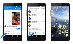 Facebook Messenger ปรับปรุงฟีเจอร์กล้องใหม่ให้ดูใช้งานได้มากขึ้น