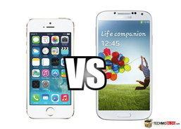 iPhone 5S vs Samsung Galaxy S4 ใครมาวิน ชนะเลิศ