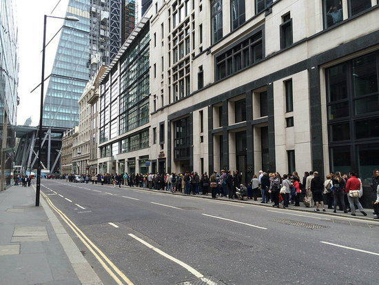 Queue for the Gherkin