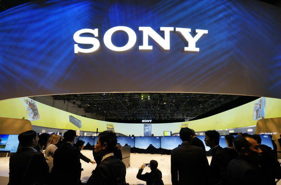 The massive Sony exhibit space is seen at the International Consumer Electronics show (CES) in Las Vegas