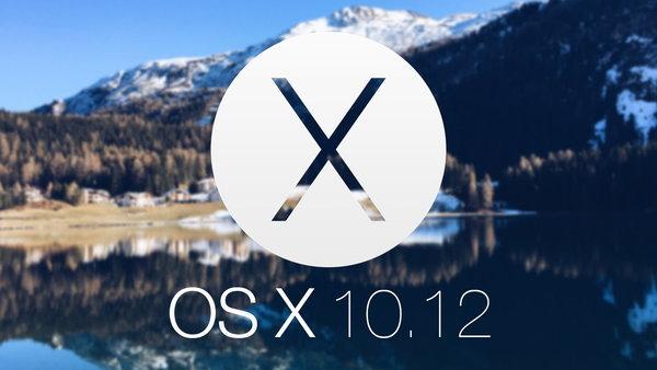Mac OS X 10.12 Fuji 600