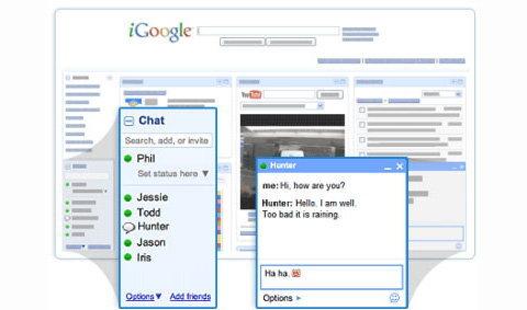 iGoogle Social Network