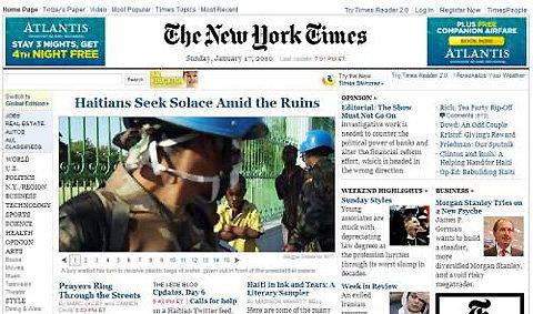 นิวยอร์กไทมส์จ่อเก็บตังค์ผู้อ่านออนไลน์
