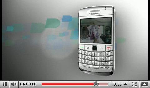 White BlackBerry Bold 9700 Teaser Video