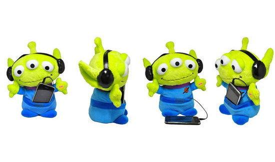 ตัวอย่าง Preview TOY STORY 3 Dancing Aliens for iPhone!