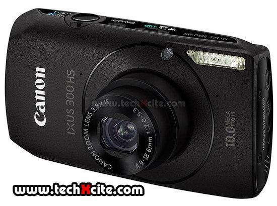 [Preview] Canon IXUS300 HS