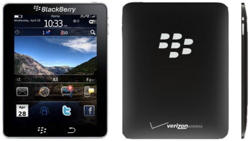 RIM เผยเตรียมส่ง BlackPad คู่แข่ง iPad เปิดตัวพฤศจิกายนนี้