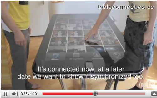 โต๊ะ iPhone จอสัมผัสตัวแรกของโลก!!