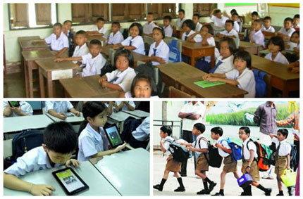 ลือ..ผู้ผลิตในจีนเดินเครื่องผลิตแท็บเล็ต 900,000 เครื่องสำหรับเด็กไทย